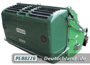 Neuer hochrobuster Auffangbehälter aus Spezial-Kunststoff mit Stahl-Schutzbügel.