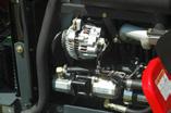 sparsamer 3-Zylinder Mitsubishi Industrie-Motor