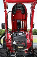 Einfaches Öffnen der großen Motorhaube für leichtzugängliche Wartungsarbeiten
