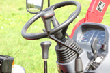 Hoher Fahrkomfort durch Hydrostatantrieb über 2 Pedalsteuerung