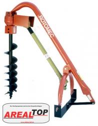 ArealTop Erdbohrer für Traktoren mit 13-37 KW (18-50 PS)