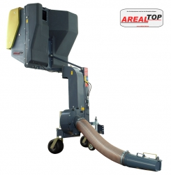 ArealTop Saugcontainer Heckanbau mit Hochentleerung 650L, 850L