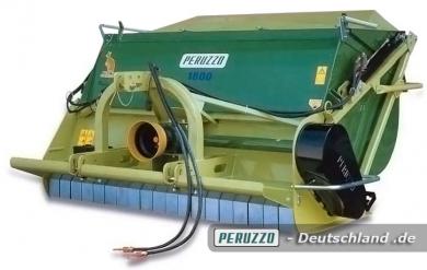 Canguro pro - Schlegelmäher mit Hochentleerung - Peruzzo Anbaugerät