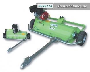 Peruzzo Motofox - Gezogener Schlegelmäher / Vertikutierer mit eigenem Antrieb