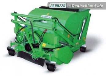 Rotovac Professional Kehrmaschine mit Aufnahme - Peruzzo Anbaugerät