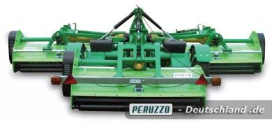 Triflex Großflächen-Schlegelmäher - Peruzzo Anbaugerät