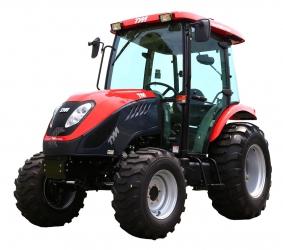 TYM T555 ST   55PS Allradtraktor mit Schaltgetriebe und Kabine