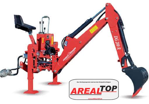 ArealTop Heckbagger DG200 für Tym T603/T1003