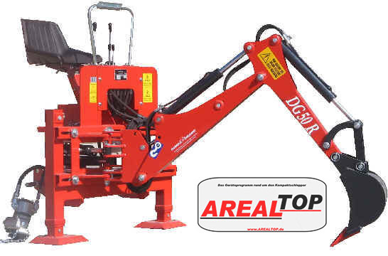 ArealTop Heckbagger DG50 für Tym T233/T273
