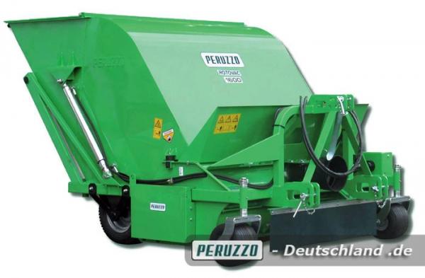 Rotovac (A) und (B) Kehrmaschine mit Aufnahme - Peruzzo Anbaugerät