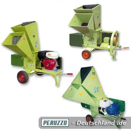 Peruzzo T3 Häcksler